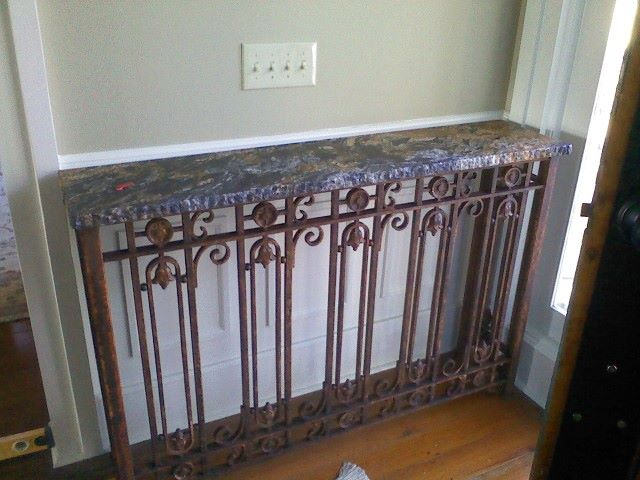 Granite Entryway Table